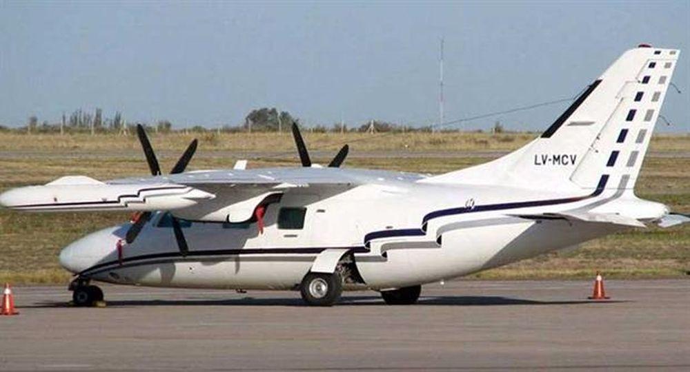 avioneta tripulantes Prefectura