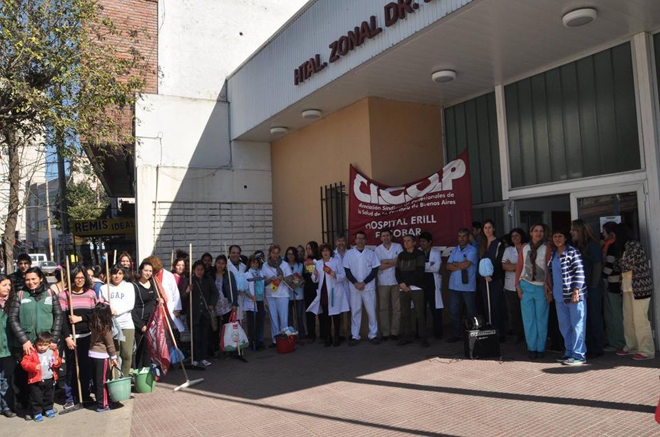 Neonatología Trabajadores Médicos bonaerenses funcionar