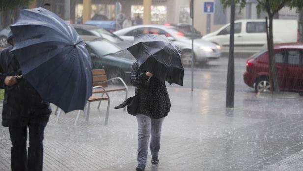 tormentas fuertes un alerta meteorológico