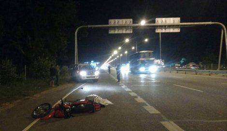 muere un motociclista