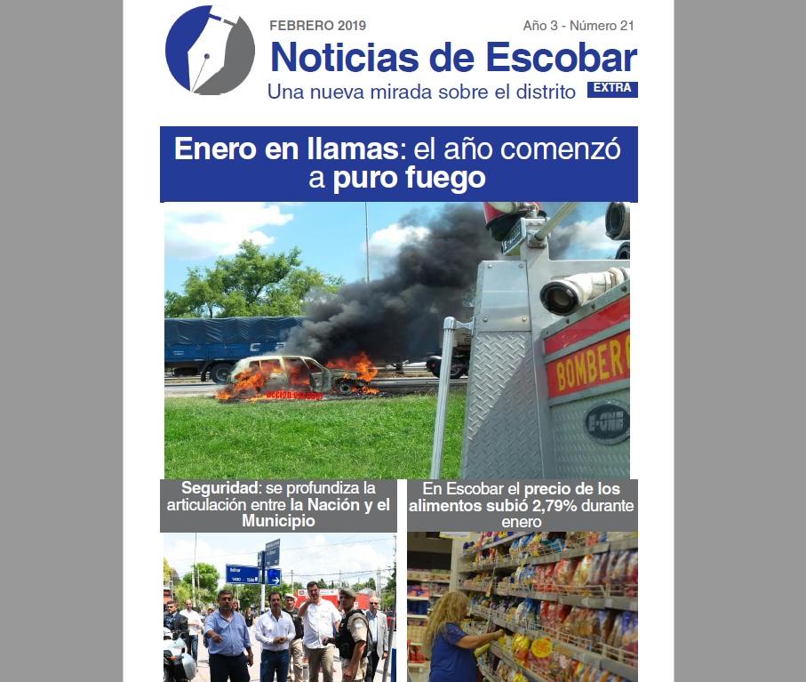 Lea la versión impresa de Noticias de Escobar