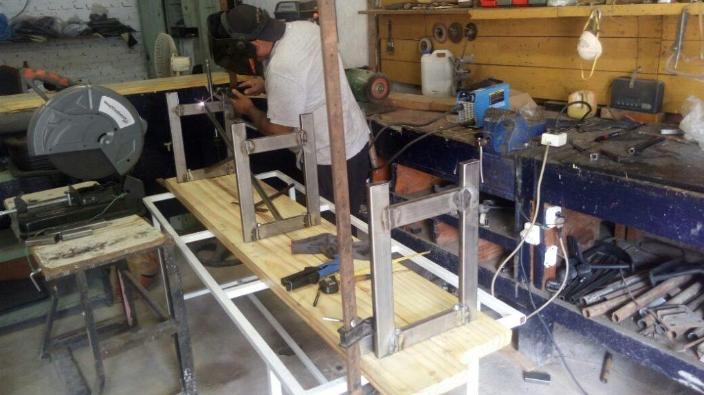 mobiliario muebles tres camillas