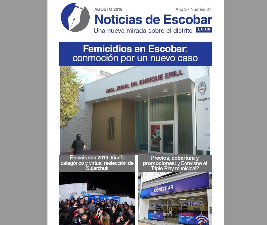 Lea la edición mensual de Noticias de Escobar
